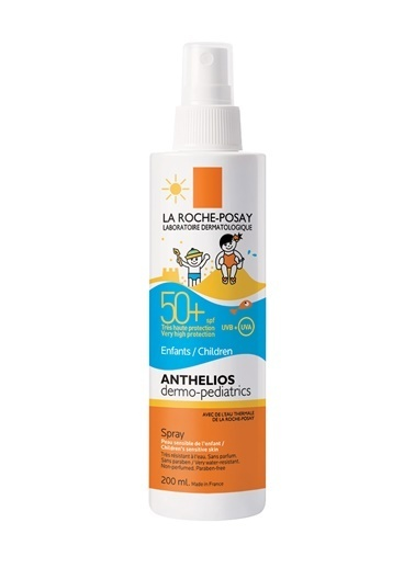 La Roche Posay LA ROCHE POSAY Anthelios Dermo Pediatrics SPF50+ Sprey 200 ml - Çocuk için Vücut Spreyi Renksiz